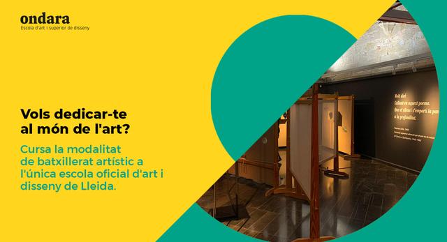 batxillerat d'arts plàstiques, imatge i disseny