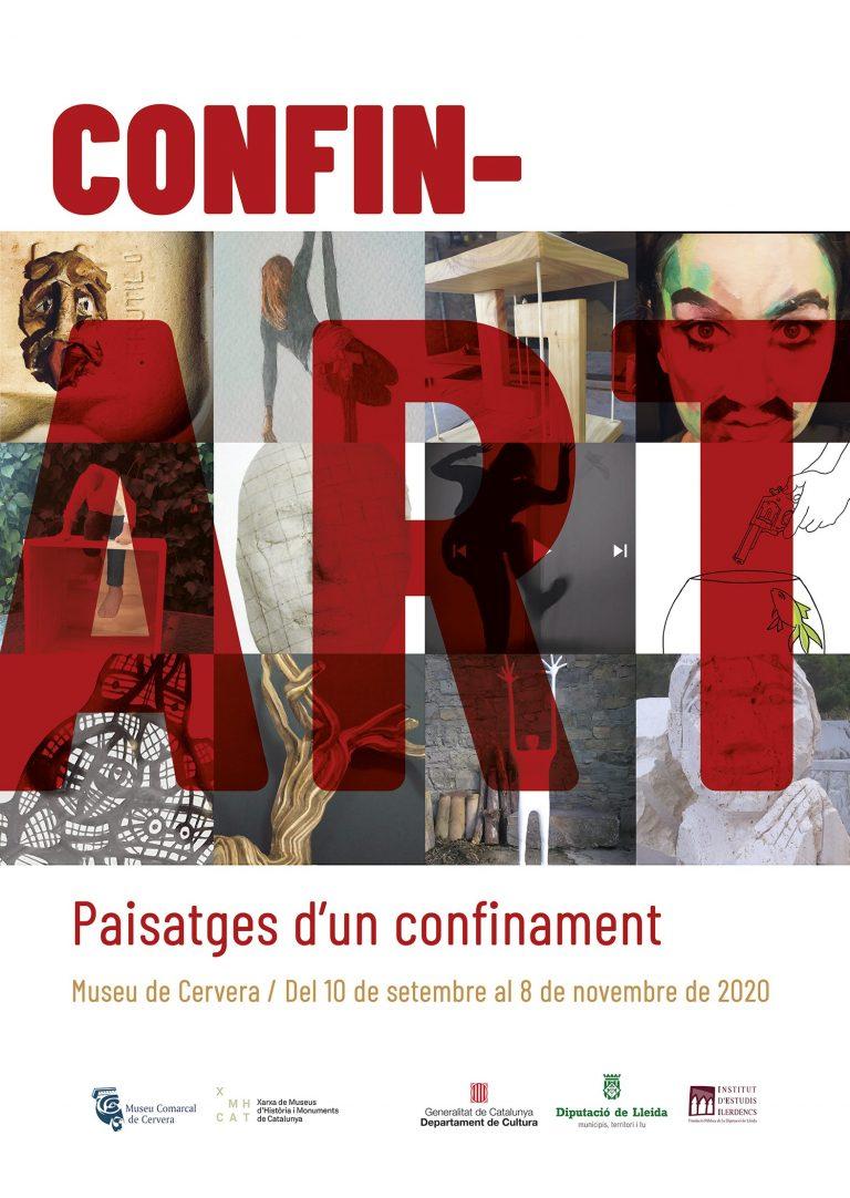 """Alumnes i professors de l'EASD Ondara participen en l'exposició """"CONFIN_ART. Paisatges d'un confinament"""""""