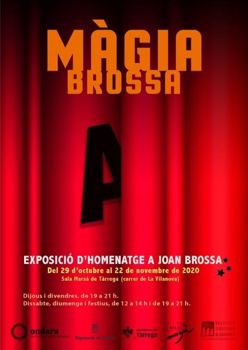 Alumnes de l'EASD Ondara participen en l'exposició Màgia Brossa