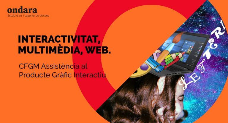 Cursa el CFGM d'Assistència al producte gràfic interactiu a Ondara!